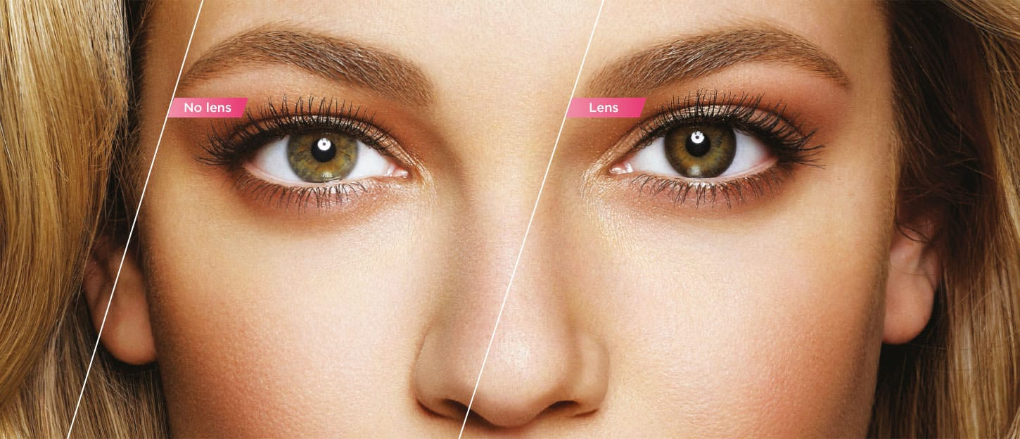 Affordable Natural Colored Contacts With No Ring